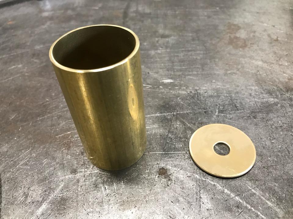 真鍮製照明カバー 製作