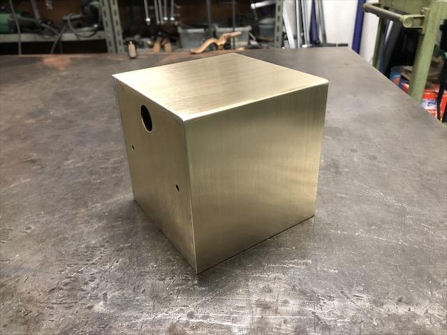 真鍮 照明カバー製作