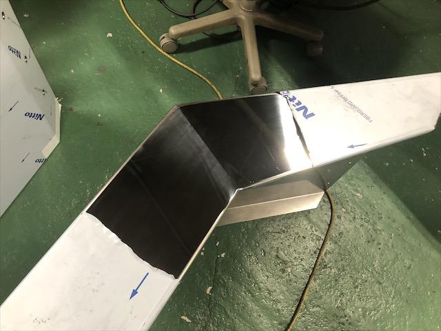 ダンプ リアフェンダー製作