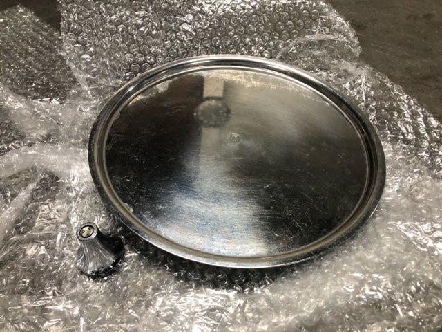 ステンレス鍋蓋 修理