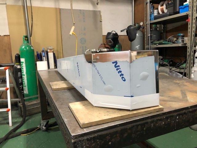 積載車用サイドバンパー   製作