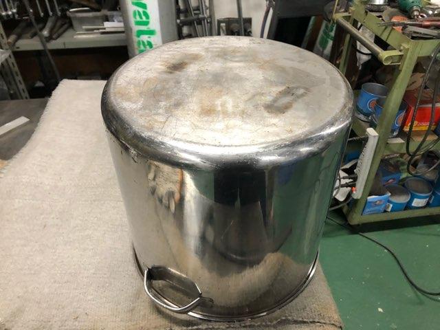 ステンレス寸胴鍋 修理