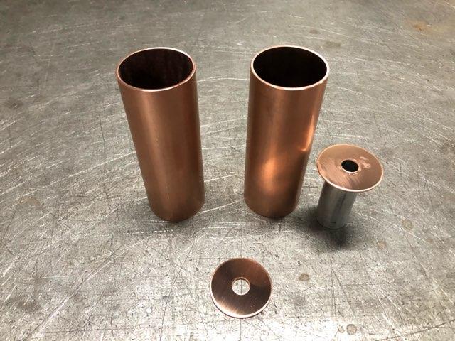 銅 照明ブラケット製作