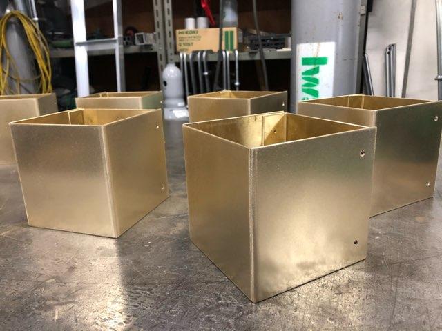 真鍮照明カバー 製作