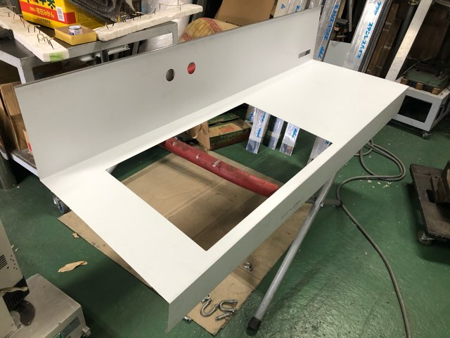 ステンレス洗面天板 製作