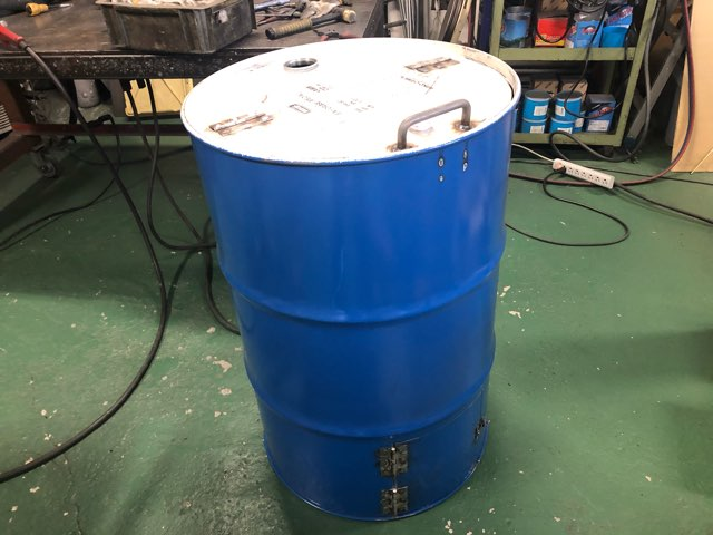 ドラム缶焼却炉 製作