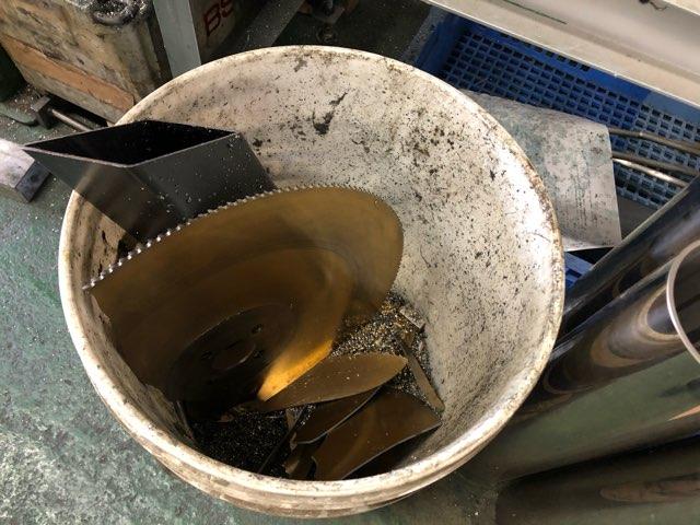 鉄ブラケット 製作