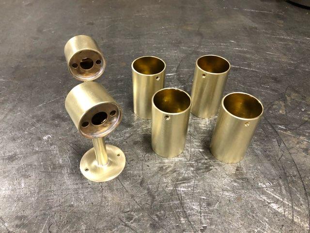 真鍮照明器具 製作