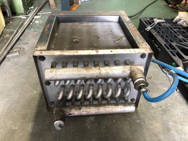 熱交換器 蒸気漏れ修理