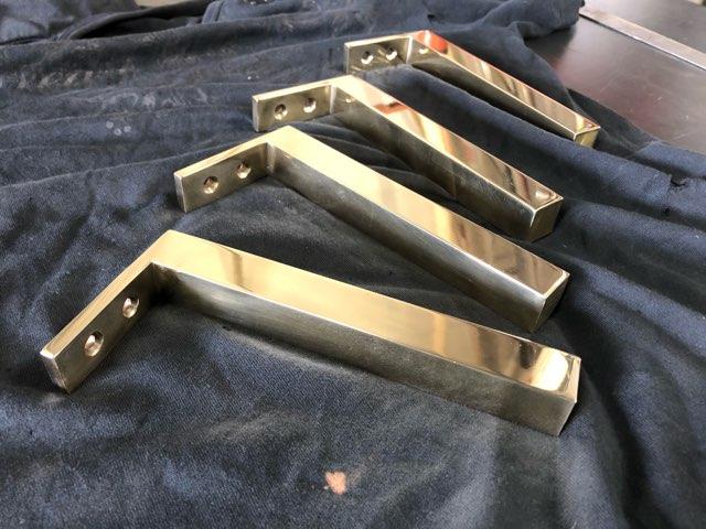 真鍮脚 製作