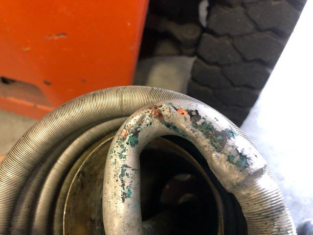 螺旋型熱交換器 修理