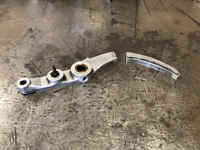 アルミ鋳物部品 修理