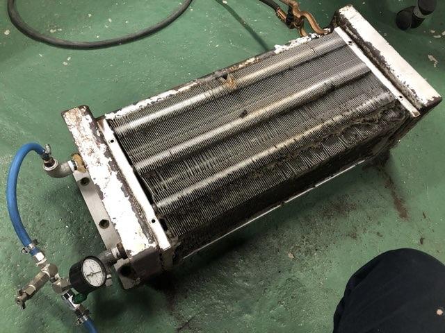 熱交換器 特急修理
