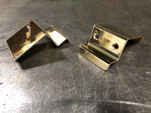 建具用真鍮取手 製作