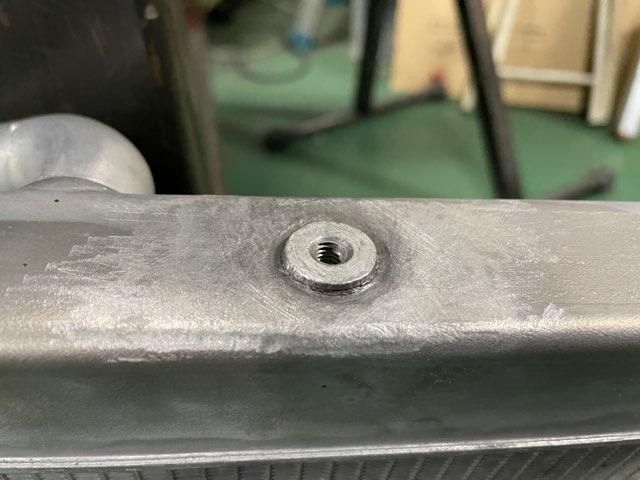 バイク用ラジエーター修理