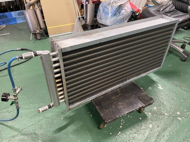 蒸気用熱交換器 修理