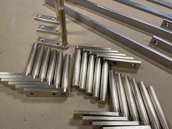 真鍮&ステンレス小物部品 製作