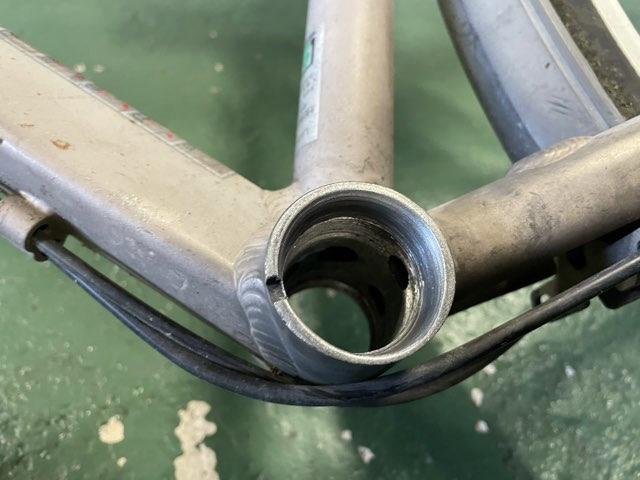 自転車 ペダルガイド修理
