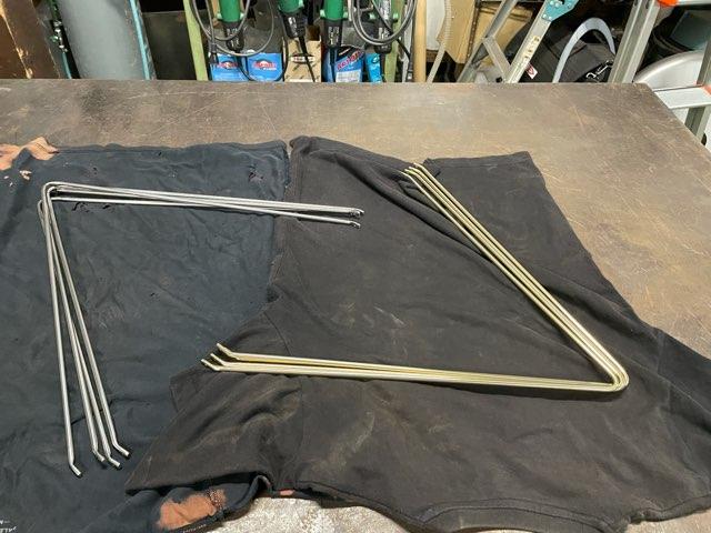 真鍮&ステンレス 曲げ金物製作