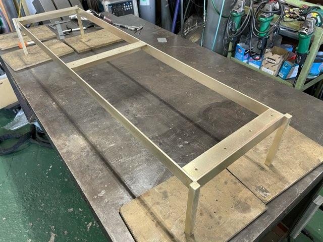 真鍮フレーム製作