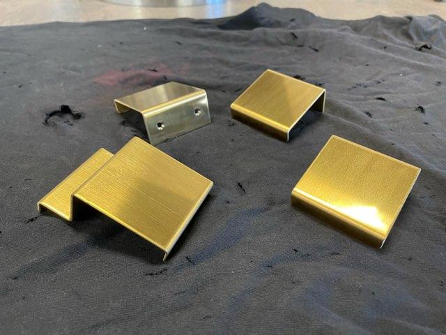 真鍮 建具取手製作