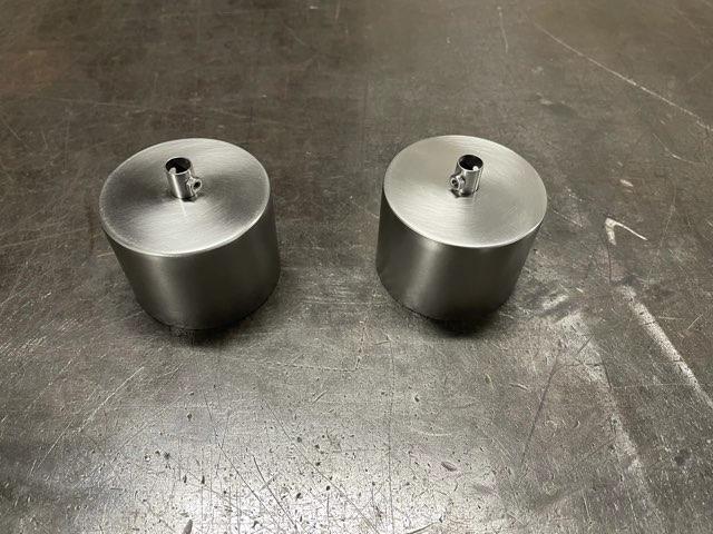 ステンレス シーリングカップ製作