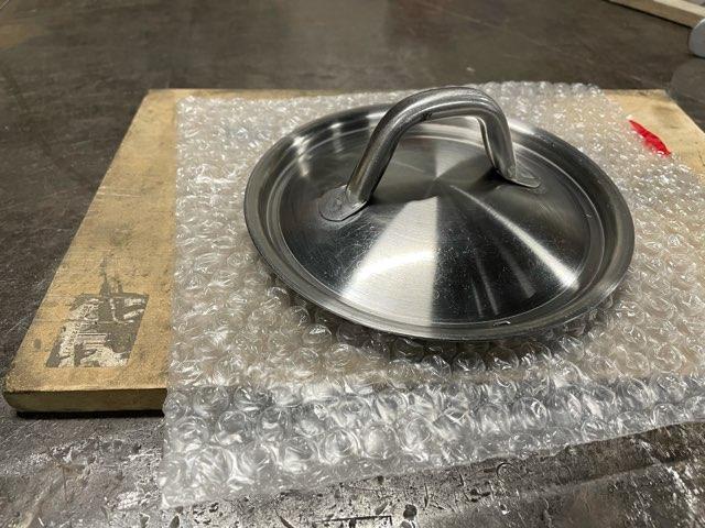 ステンレス製鍋蓋 修理