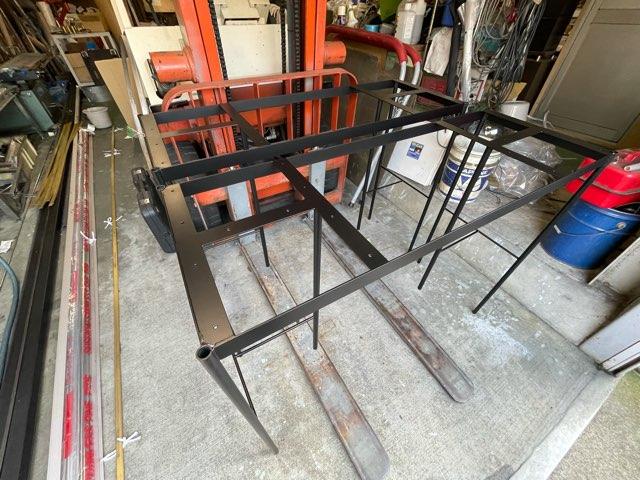 家具用架台 製作