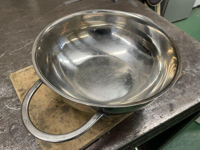 ステンレス両手鍋 取手修理
